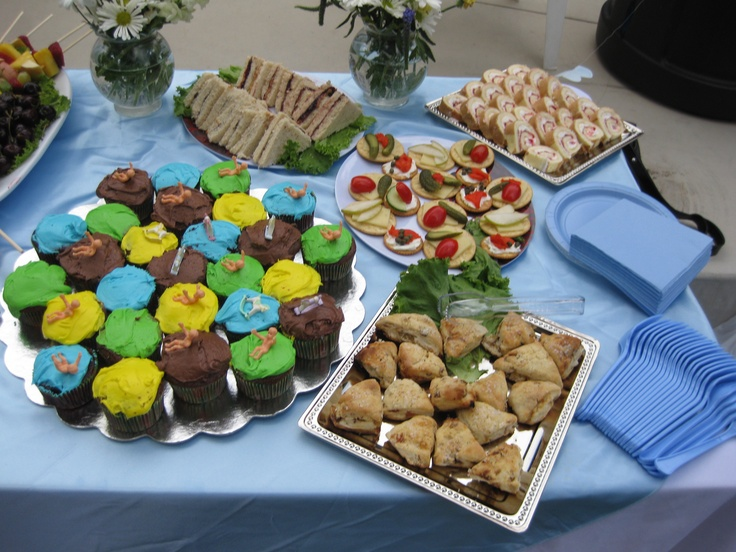 Catered baby shower