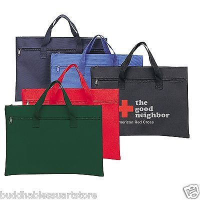Reusable Eco Bags 169302: 1 Dozen Conference Carry On Pouch Tote Totes Bag Bags Blank Documents 16 X11 -> BUY IT NOW ONLY: $36 on eBay!