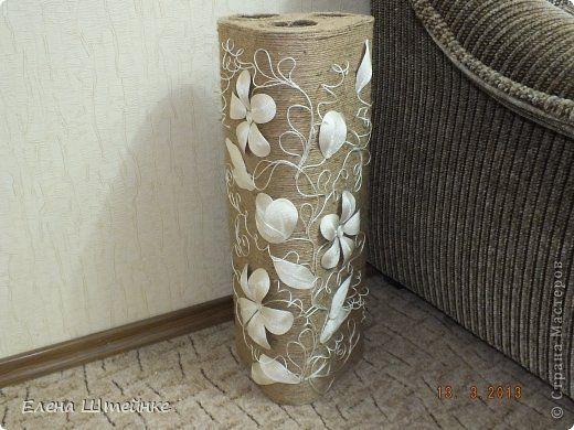 Поделка изделие Еще одна напольная ваза фото 1
