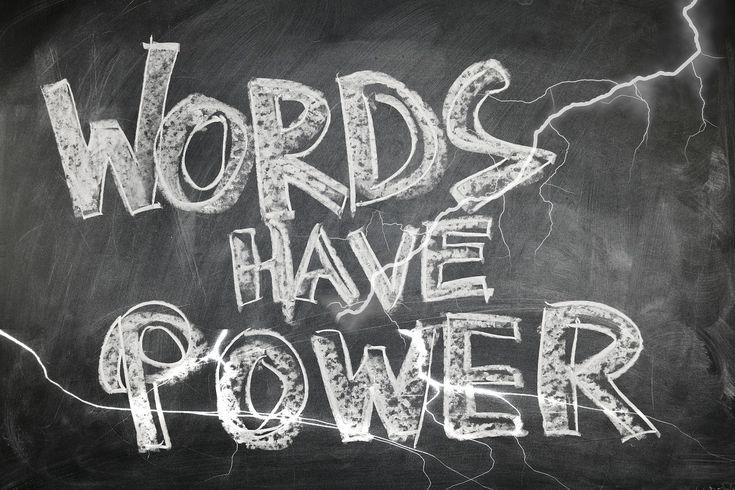 A força das palavras