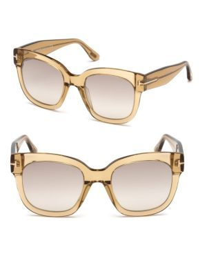 da0c4d7fe9 TOM FORD EYEWEAR 50MM Beatrix Square Sunglasses.  tomfordeyewear ...