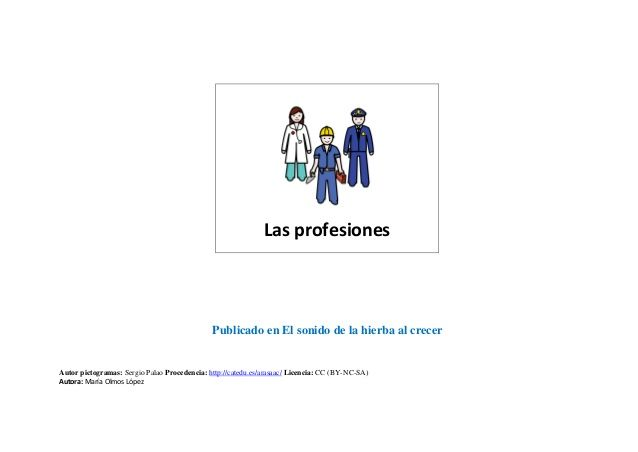 Las profesiones pdf definitivo by Anabel Cornago via slideshare