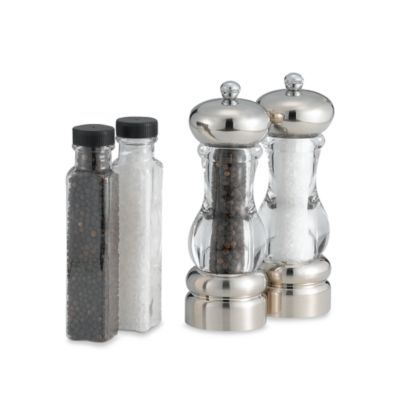 Olde Thompson Pepper Mill and Salt Mill Set in Del Norte - BedBathandBeyond.com