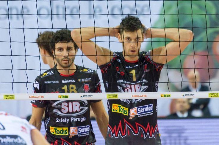 Simone Buti per la Sir Safety Perugia.