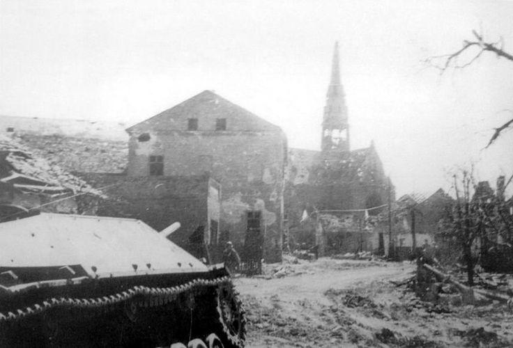 Jagdpanzer IV L / 70 (V) later serie`s - Chuchelna in Moravia Czechoslovakia March- April 1945