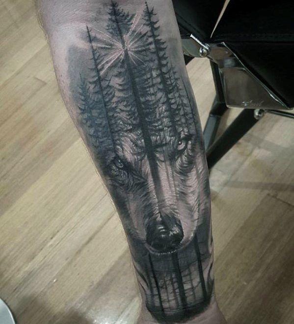 60 Morph Tattoo Designs für Männer – Blended Ink Ideen