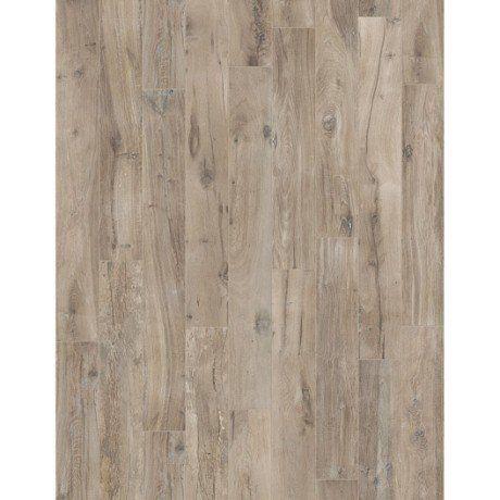 Carrelage sol et mur brun clair effet bois Heritage l.20 x L.120 cm