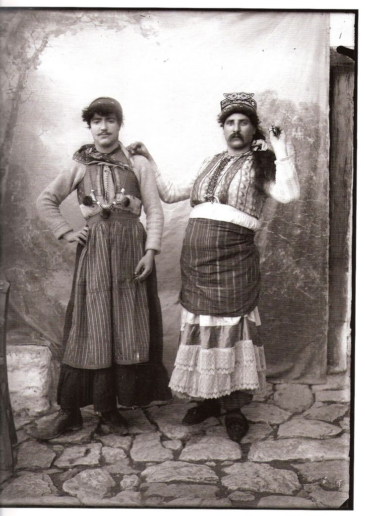 The Ragoutsaria of Thessaly and Macedonia in Greece have their origin from the ancient Winter Dionysia.  The Rogatores (beggars),visit the local houses of the region and accept treats and gratuities in exchange of expelling evil spirits that hinder people's lives.