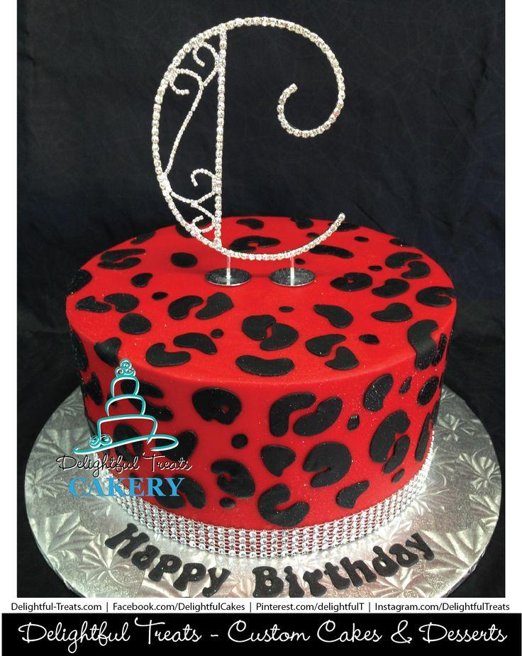 Red Cheetah Birthday Cake In Buttercream Bling Rhinestone Ribbon by Delightful Treats Cakery Orlando | #DelightfulTreats #Cakery #Orlando #OrlandoCakes #Red #Cheetah #Birthday #Cake #Buttercream #Bling #Rhinestone #Ribbon #RedCheetah #BirthdayCake #ButtercreamCake #BlingCake #RhinestoneCake #CheetahBirthdayCake #CheetahDesign
