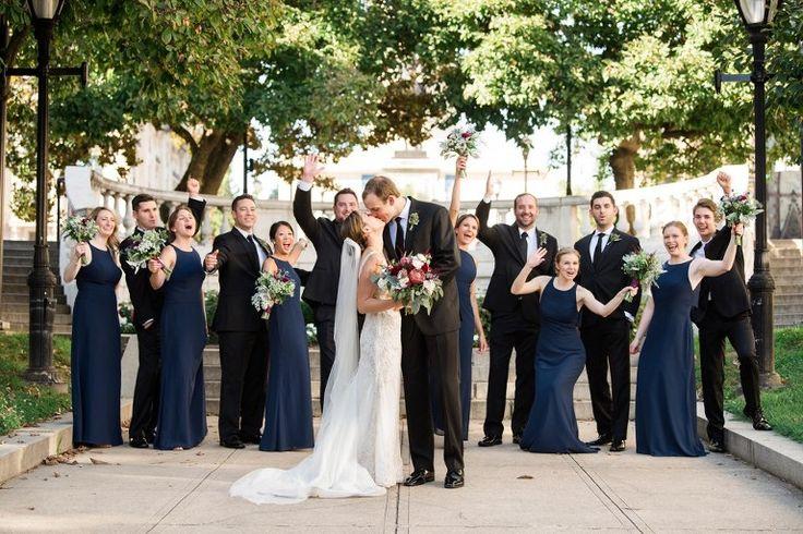 George Peabody Library Wedding in Baltimore Maryland | Katie & Matt