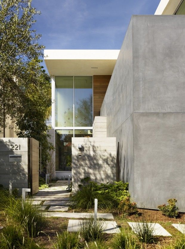 Habitation contemporaine à beverly hills par ehrlich yanai rhee chaney architects