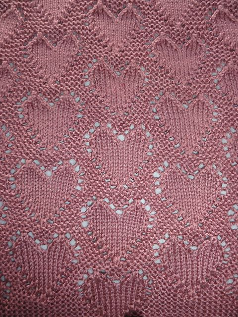 Ravelry: Lots of Love Baby Blanket pattern by Angel Ces
