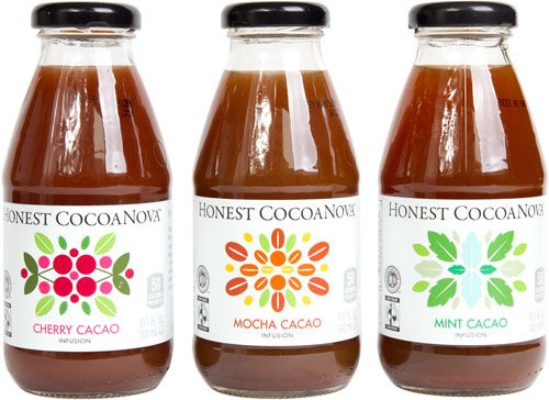 New to me, these came out last year from Honest Tea. I'm not normally a flavored tea fan, but I loved, LOVED the taste of the Cherry Cacao one.