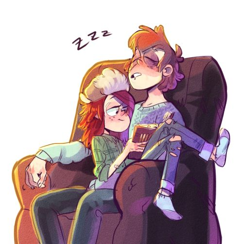 dipper x mabel adults - Google Search