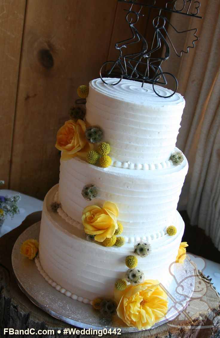 For wedding cakes we recommend you secure