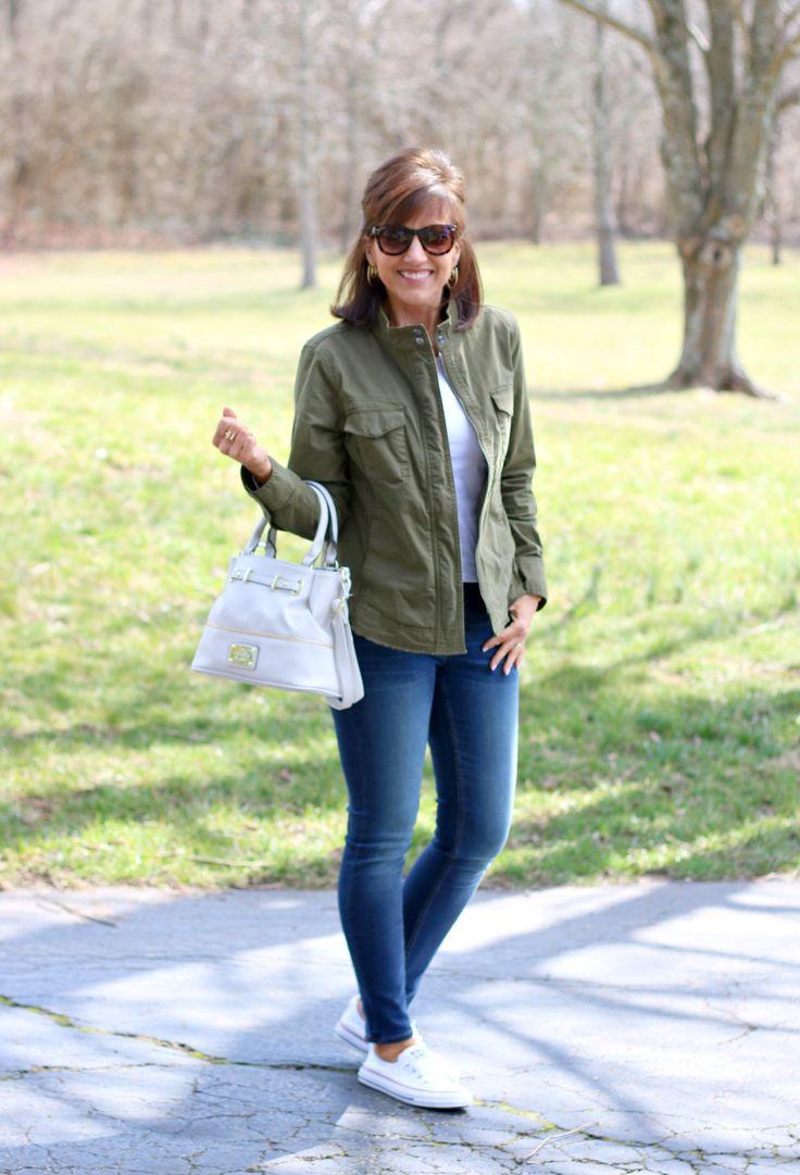 27 Days of Spring Fashion: Utility Jacket - Grace & Beauty