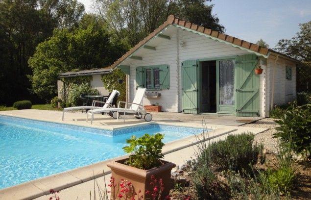 La Chimère - FR-Centre - Loir et Cher Chalet piscine
