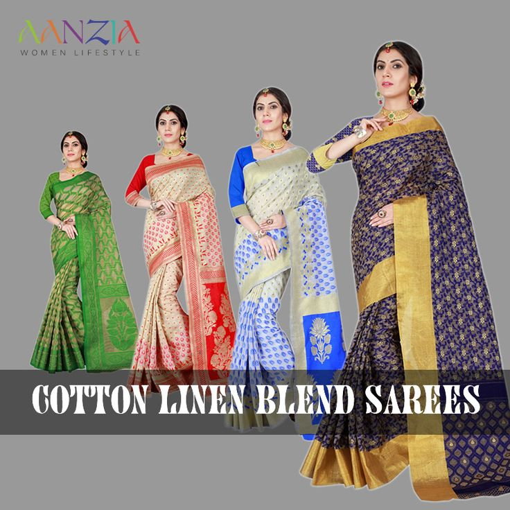 "Buy Casual Wear Cotton Linen Blend Sarees. Get Flat 30% OFF, Apply Code: ""30OFF"" + Free Shipping +COD #buydesignersarees #casualsarees #sareesonline #cottonsarees #kanjivaramsarees #silksarees #printedsarees #aanziasarees #latest #blue #green #read #pink #white #colored #saris #low #price #freeshipping #women #festival #occasional #party #wear #Christmas #collection"