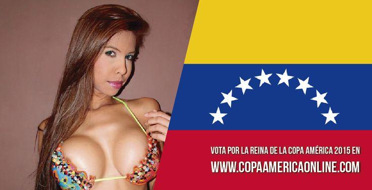 Candidata a Reina de la Copa América 2015, representando a Venezuela Kassandra Caracas  a Votar por tu favorita #ReinaCopaAmerica2015 http://ow.ly/Ojdjq