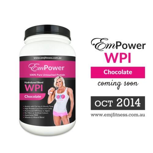www.emjfitness.com.au EmPower WPI PROTEIN