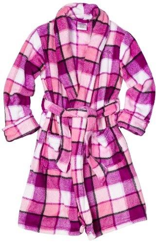Calvin Klein Girls 7-16 Plaid Robe