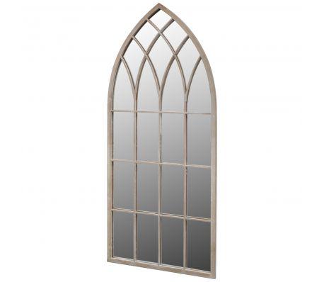 Gotischer Gartenspiegel 115 x 50 cm für den Innen- und Außenbereich