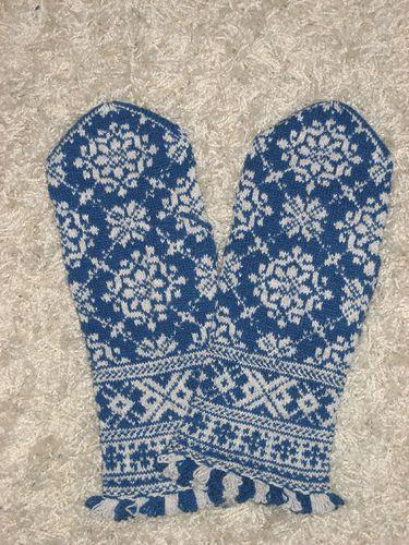 Lizbeth Upitis Latvian mittens