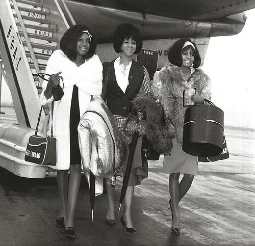 Diana Ross and the Supremes 3-4 by Black History Album, via Flickr