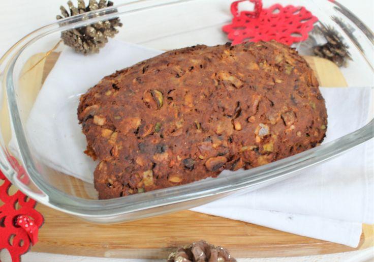 vegetarisch gehaktbrood voor kerst