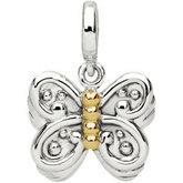 Butterfly Dangle Charm