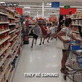 run, they, are, coming GIF