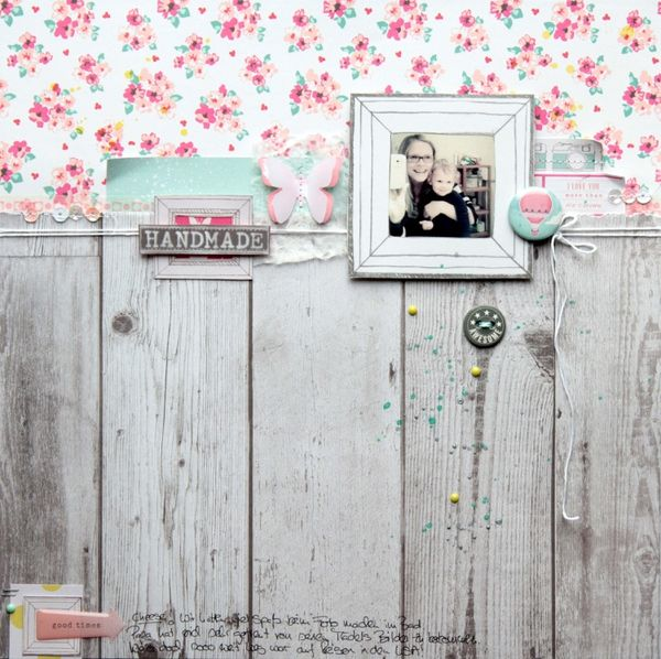 Another favorite from our gallery: Handmade @Kari Jones alissa Peas in a Bucket