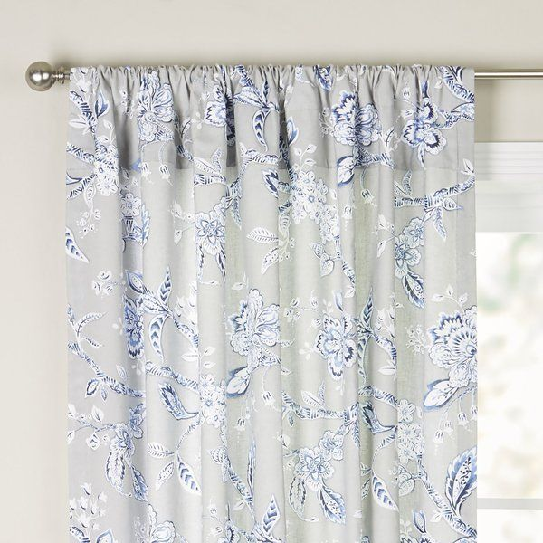 You Ll Love The Ellie Single Curtain Panel At Wayfair Great Deals On All Décor Pillows Products With F Panel Curtains Bedroom Curtains With Blinds Curtains