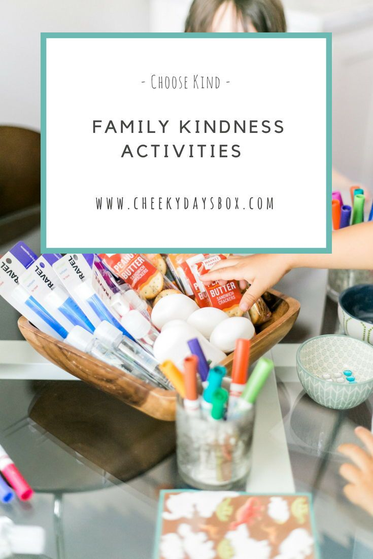 family kindness activities for kids  Teaching kids how to