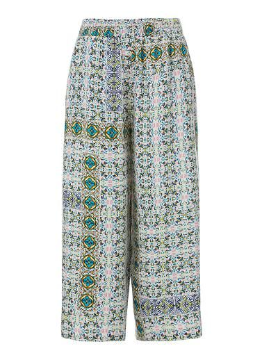Womens Pants Womens Shorts | Resort Printed Culotte | Seed Heritage
