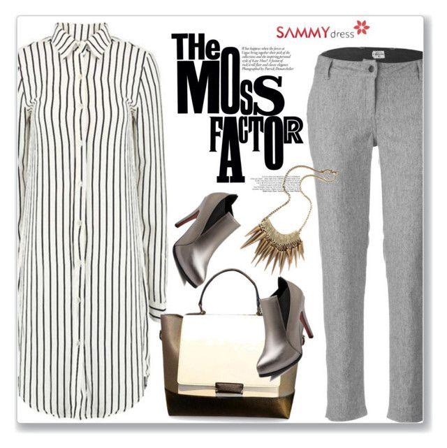 """Sammy Dress 4/60"" by amra-mak ❤ liked on Polyvore featuring mode, Bridge & Burn, Retrò en sammydress"
