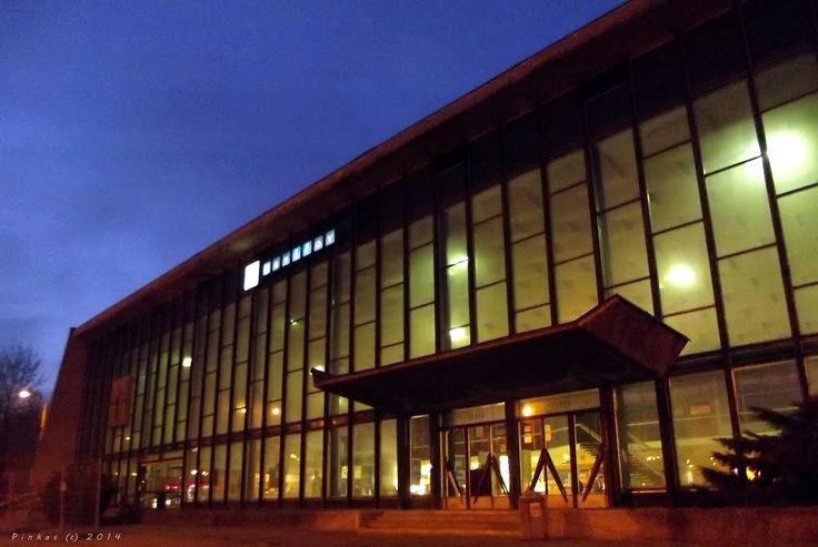 """Havirov, central station 49° 47' 27.66"""" N  18° 24' 47.26"""" E"""