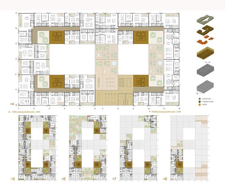Image 18 of 23 from gallery of Garden City K66 / OFIS arhitekti. Courtesy of OFIS arhitekti