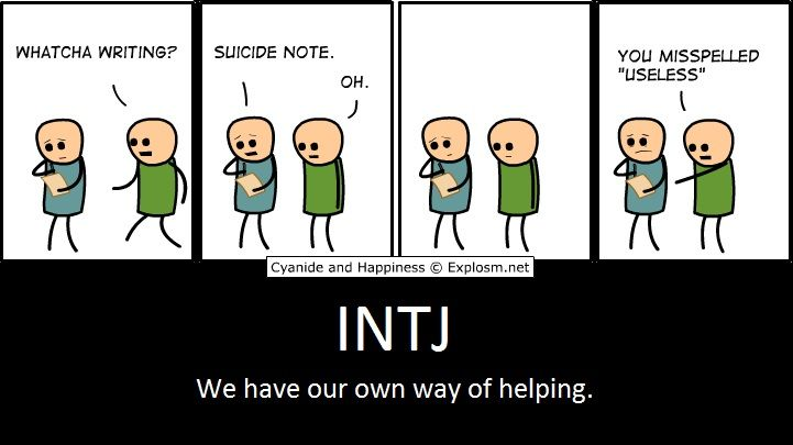 INTJ Helping (It's how you look at things)