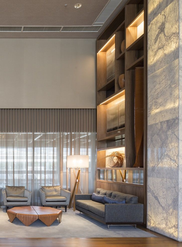 Living - high ceiling