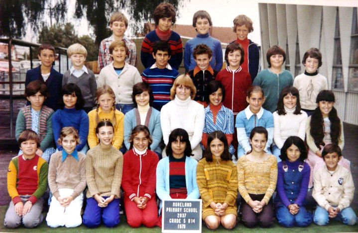 https://flic.kr/p/TWKAKg   John Torcasio:  Moreland Primary School   John Torcasio is left the second row from the top 1978