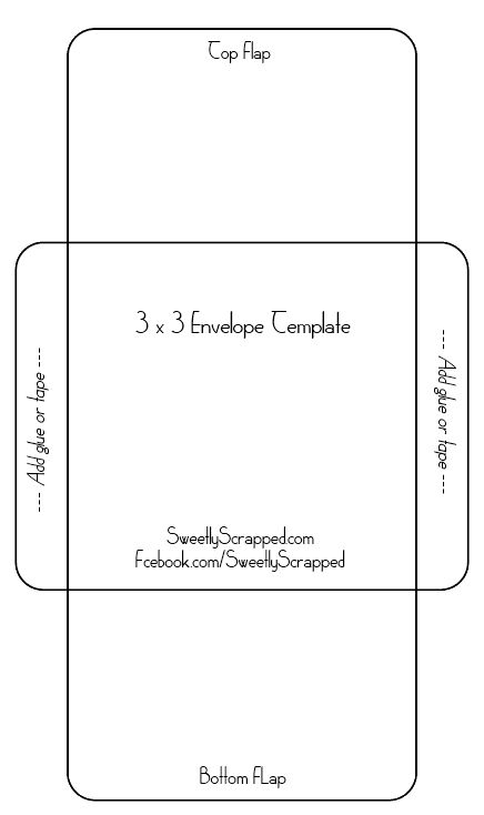 Sample A2 Envelope Template 🔎Zoom Printable Envelope Template - 4x6 envelope template