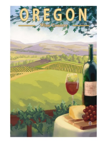 Oregon Wine Country. I repined this from http://www.art.com/products/p15574507-sa-i3784377/lantern-press-oregon-wine-country-c2009.htm?sorig=cat=6857=6857=9c9c5c3387434781bf0f4765df2dd946