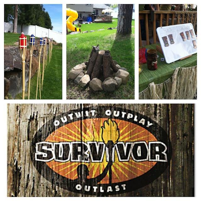 Survivor: Birthday Island Party Recap