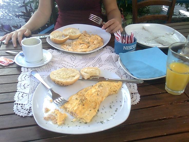 'say goodbye to Split' breakfast :)