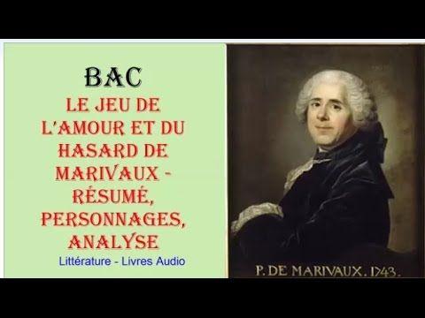 BAC - Le Jeu de l'amour et du hasard de Marivaux, Résumé, Personnages, Analyse, Livres audio - YouTube