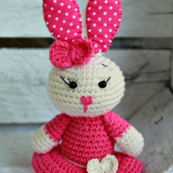 Tutorial Iniciacion Amigurumi : Best images about rabbit easter patterns on pinterest