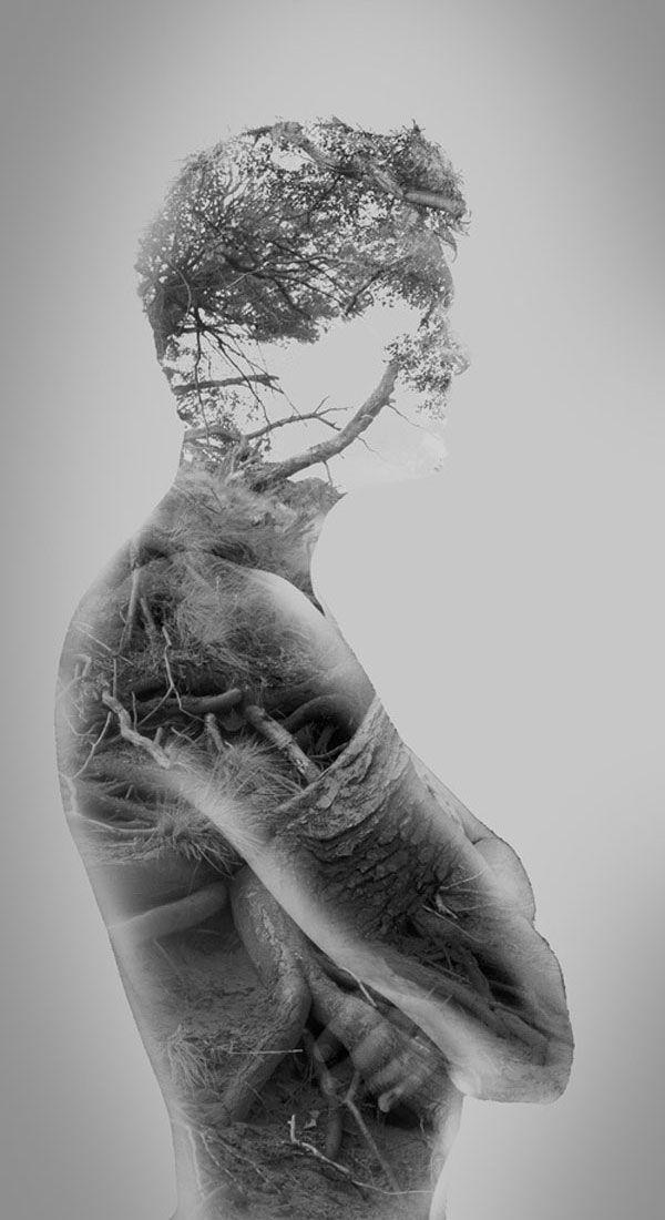 Inspiración - The Inner Light: Photos by Francisco Provedo    A series of double exposure photos.