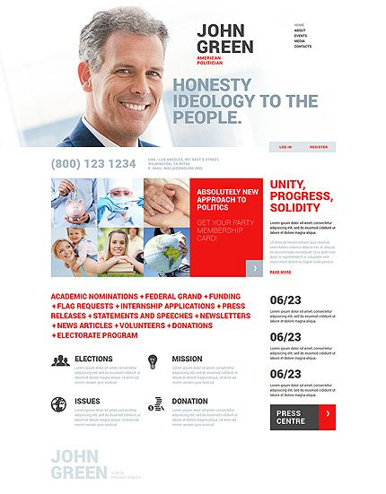 30 Best Politics Web Design Images On Pinterest Politics Web
