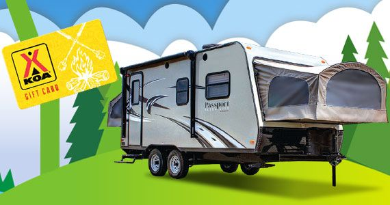 Win a Keystone Passport Camper Trailer